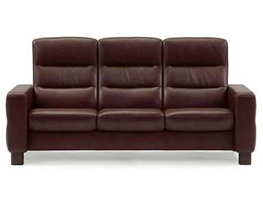Stressless by Ekornes Stressless® Wave Highback 3 Seater Medium Stressless Wave Highback 3 Seater Medium