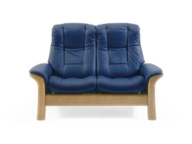 Stressless by Ekornes Stressless® Windsor Highback 2 Seater Medium Stressless Windsor Highback 2 Seater Medium