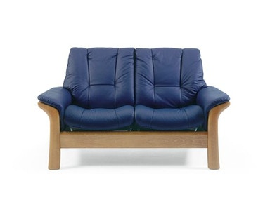 Stressless by Ekornes Stressless® Windsor Lowback 2 Seater Medium Stressless Windsor Lowback 2 Seater Medium