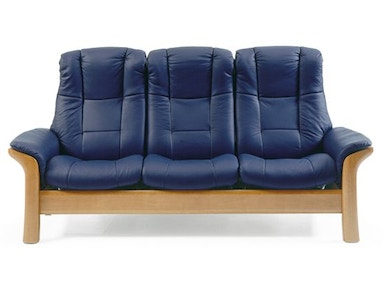 Stressless by Ekornes Stressless® Windsor Highback 3 Seater Medium Stressless Windsor Highback 3 Seater Medium