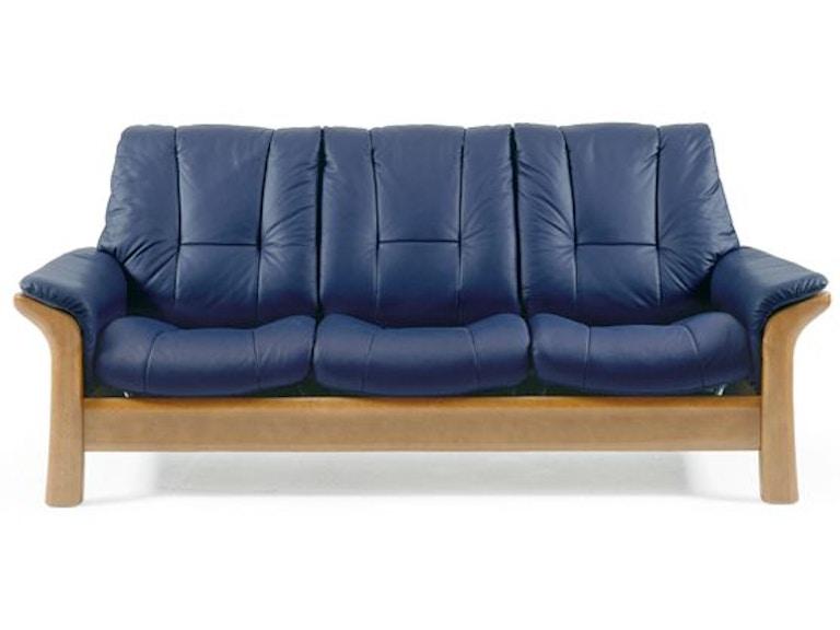 Stressless By Ekornes Windsor Lowback 3 Seater Medium 1193030