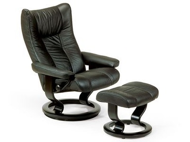 Stressless by Ekornes Stressless® Wing Small Classic Base 1054015