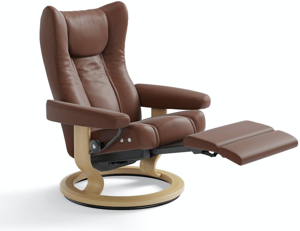 Stressless By Ekornes Living Room Stressless Wing Large Legcomfort Feige S Interiors Saginaw