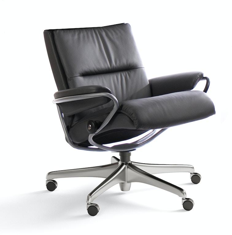 Phenomenal Stressless By Ekornes Home Office Stressless Tokyo Low Back Cjindustries Chair Design For Home Cjindustriesco