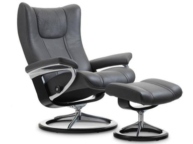 Stressless by Ekornes Stressless® Wing Small Signature Base 1054315