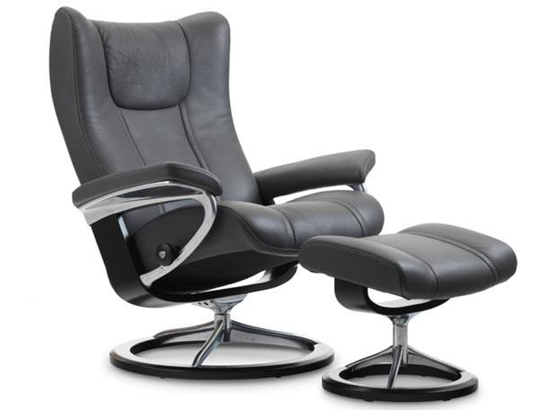 Stressless By Ekornes Wing Small Signature Base 1054315