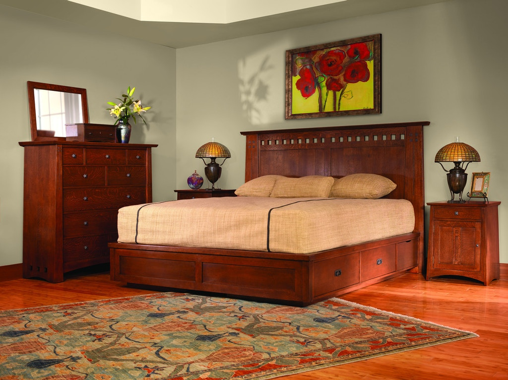 Stickley Bedroom Highlands Master Chest 954 - Stacy ...