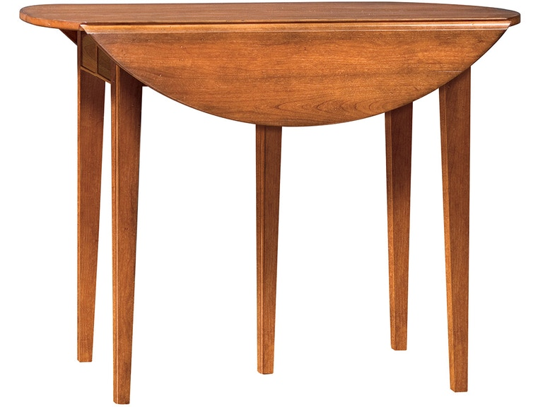 Stickley Furniture 4152 3lvs Oval Drop Leaf Dining Table
