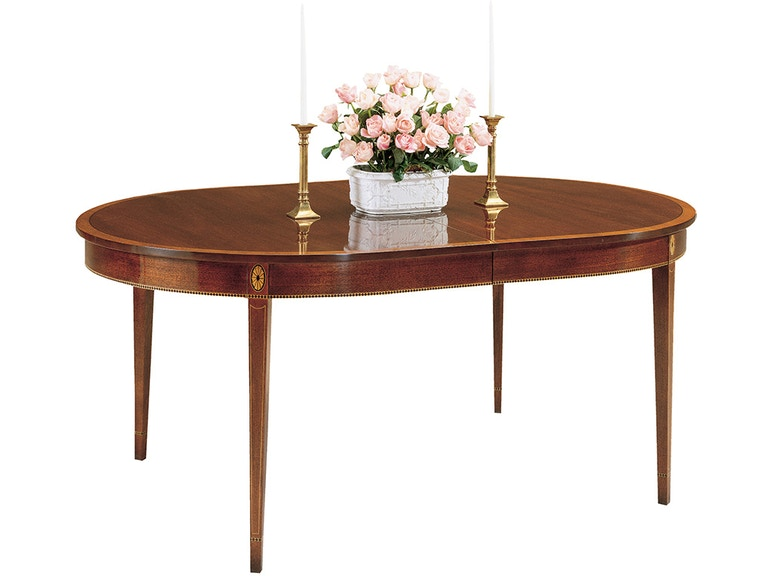 Stickley Dining Room Monroe Place Table 4586 2lvs S At Gorman