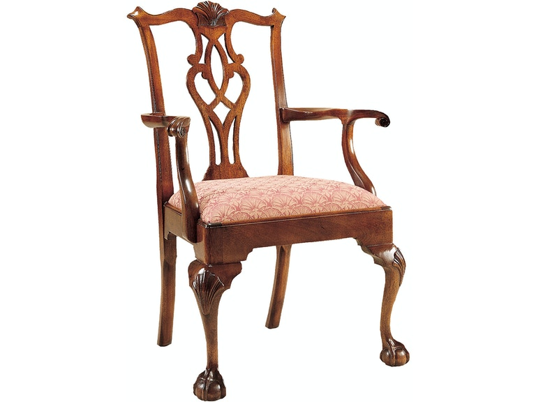 Stickley Dining Room Chippendale Ball Claw Arm Chair 4787 A Thomasville Of Arizona Phoenix