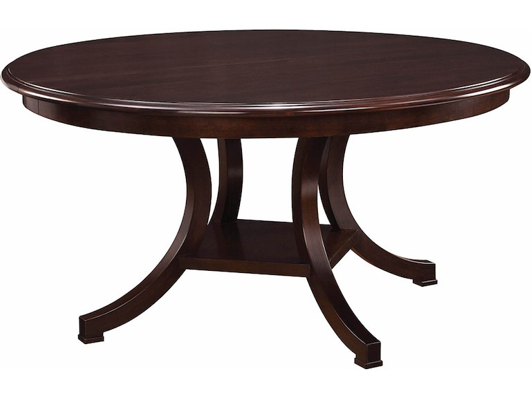 stickley dining room table | Stickley Dining Room Exeter Round Dining Table 53401-48 ...