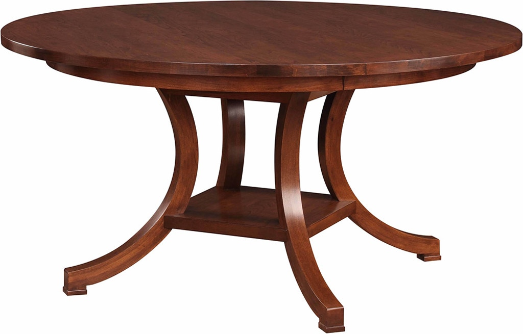 Stickley Dining Room Exeter Round Dining Table 53501 - Stacy ...