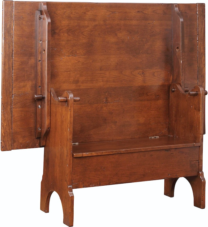 Stickley Living Room Lyons Flip Top Table Bench 72876