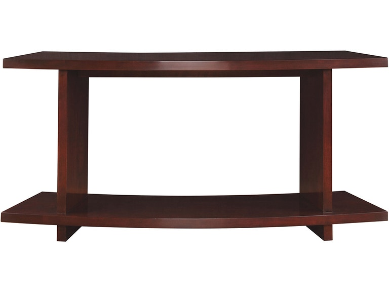 Stickley Furniture 7543 Curved Sofa Table Interiors Home