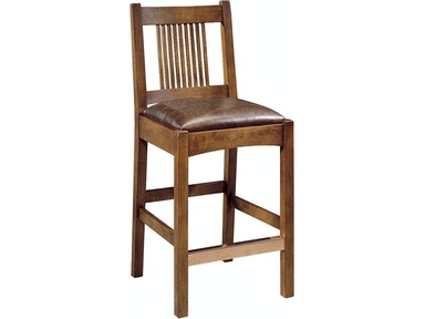 Stickley Bar And Game Room Spindle Stool 89 321 C Toms