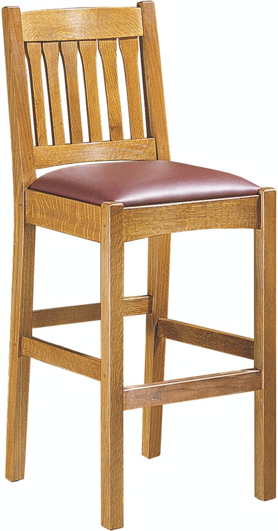 Stickley Bar And Game Room Stool 322 Louis Shanks