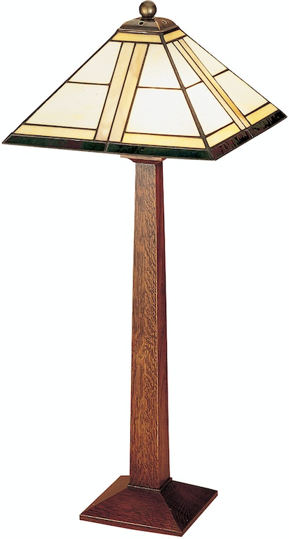 Stickley Lamps And Lighting Square Base Table Lamp 912388