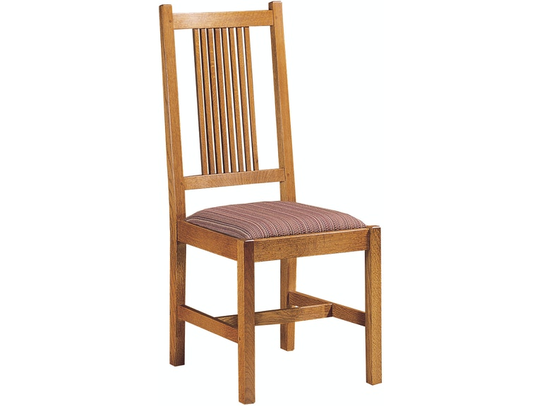 0bbbd7e7d7 Stickley Dining Room Side Chair Prairie Spindle Back 802137 at Naturwood  Home Furnishings