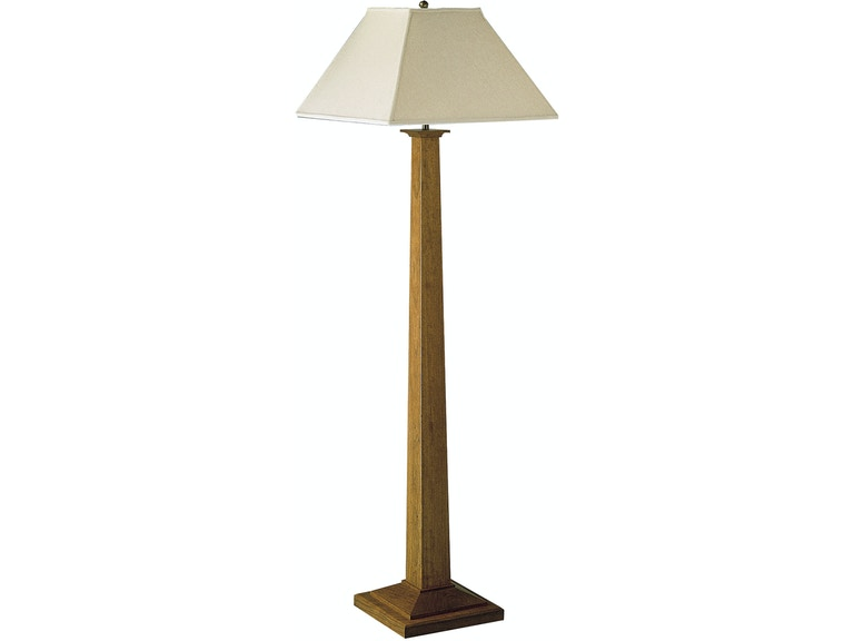 Stickley Lamps And Lighting Square Base Floor Lamp 89 036 L7