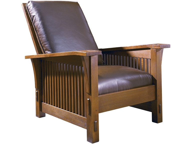 Stickley Living Room Spindle Morris Chair 89 369 At Toms Price Furniture