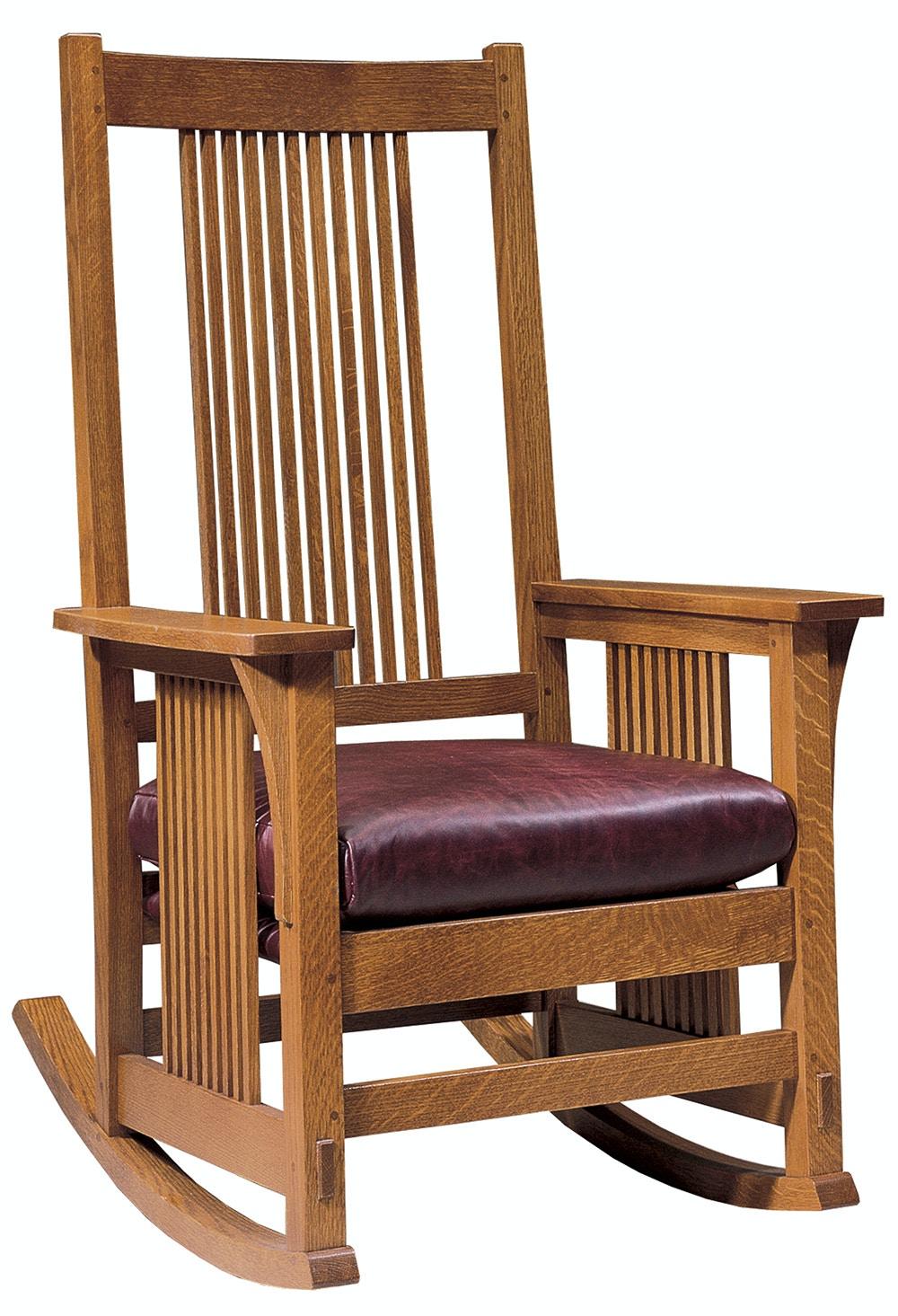 Stickley Furniture Living Room Spindle Rocker 89 376 R At INTERIORS HOME
