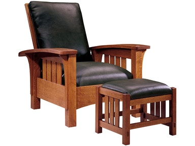 Stickley Living Room Bow Arm Morris Chair 89 406 Louis