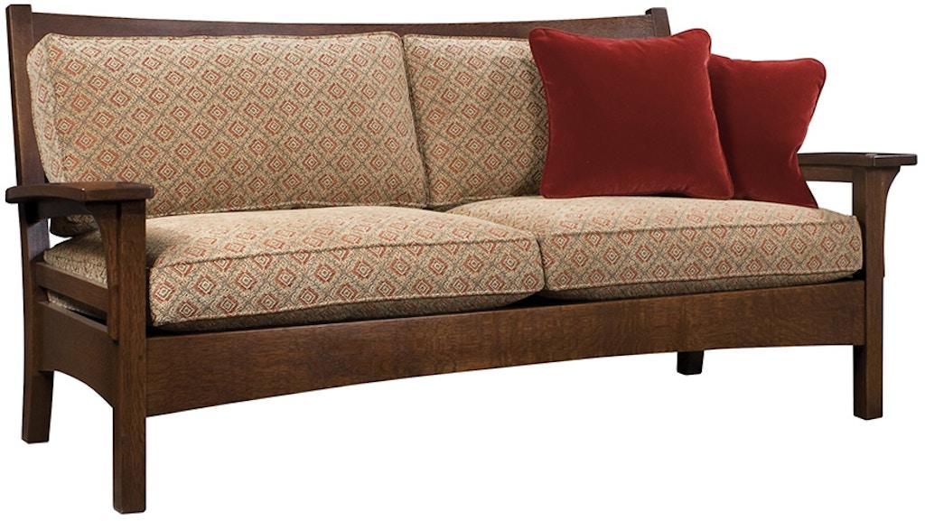 Stupendous Stickley Living Room Slat Back Settle 89 1263 Paul Schatz Theyellowbook Wood Chair Design Ideas Theyellowbookinfo