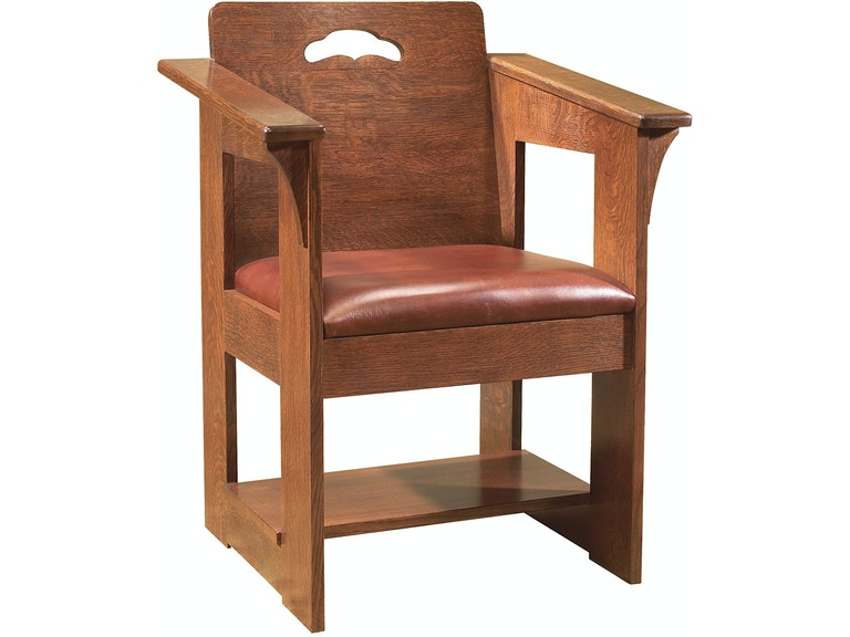 fbb73014d7 Stickley Dining Room Cafe Chair Leather Seat Limbert 612295 at Naturwood  Home Furnishings