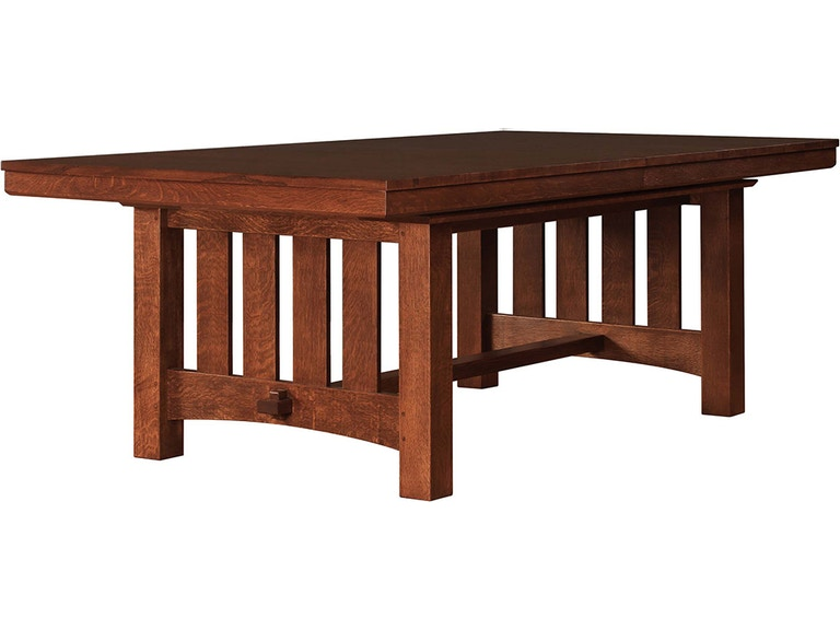 Stickley Furniture 89 1830 2lvs Grande Trestle Table Interiors