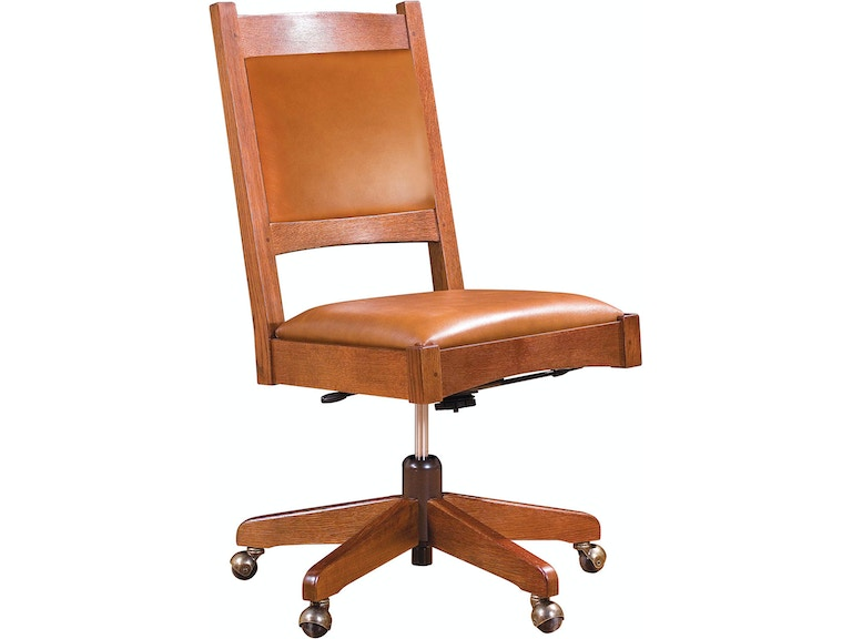 Fabulous Stickley Home Office Armless Swivel Chair 89 325 S Sw Lb Uwap Interior Chair Design Uwaporg