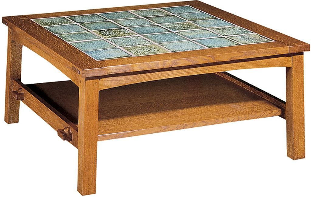 Living Room Tile Top Tail Table