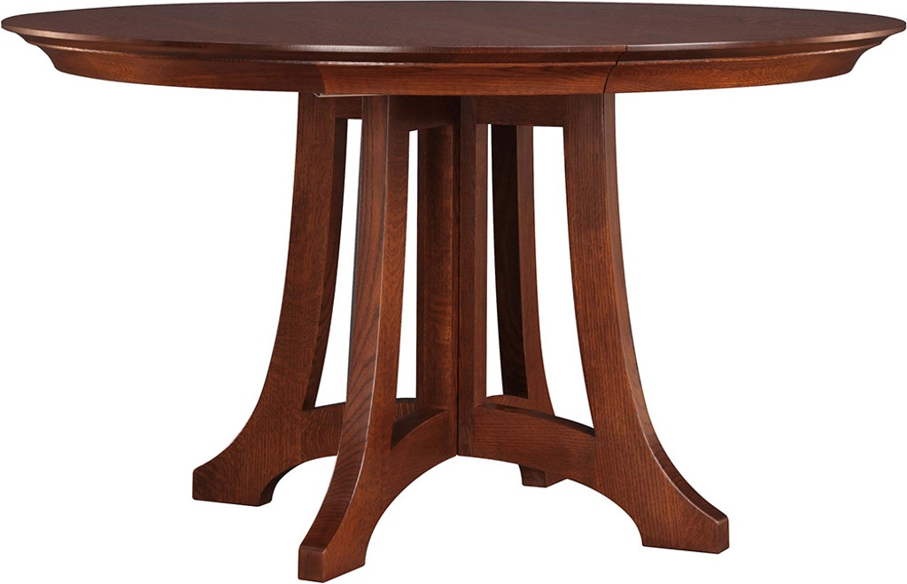 52 Round Table.Stickley Dining Room Highlands Round Dining Table 89 594 52 2lvs