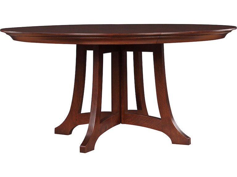 stickley dining room table | Stickley Dining Room Highlands Round Dining Table 89-594 ...