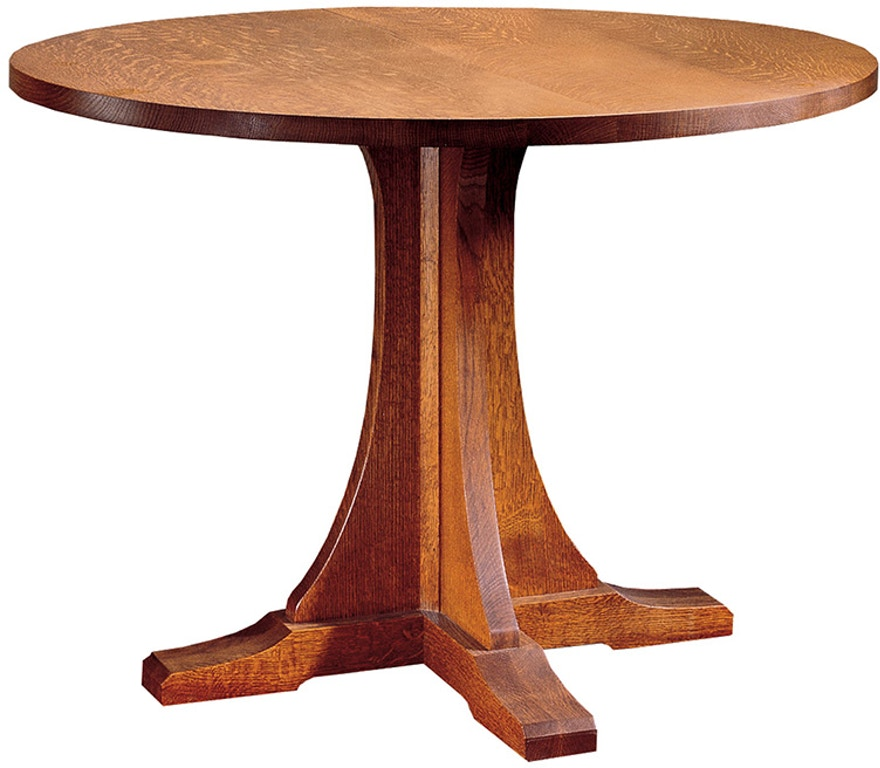 Dining Room Tables San Antonio: Stickley Dining Room Round Pedestal Table 89-714-38