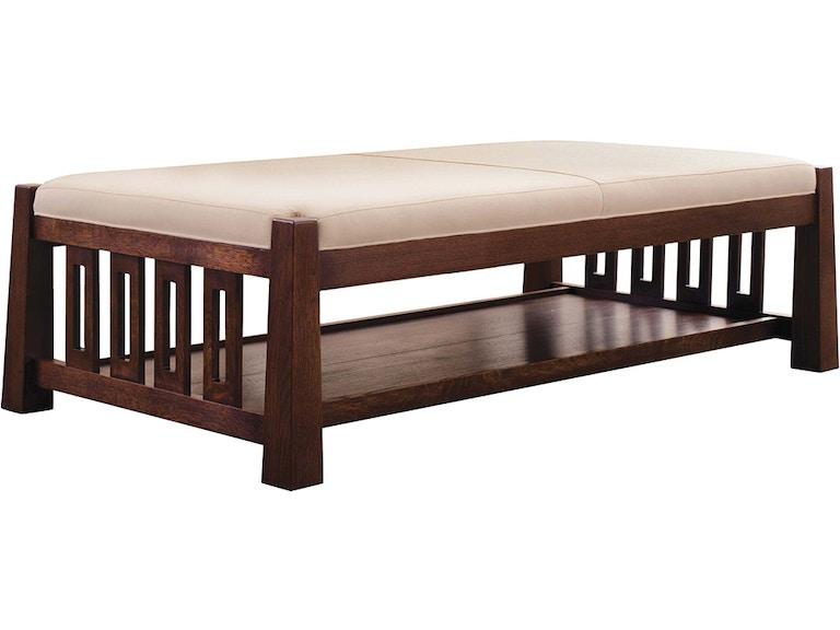 Admirable Stickley Furniture 91 9800 Cot Highlands Cocktail Ottoman Machost Co Dining Chair Design Ideas Machostcouk
