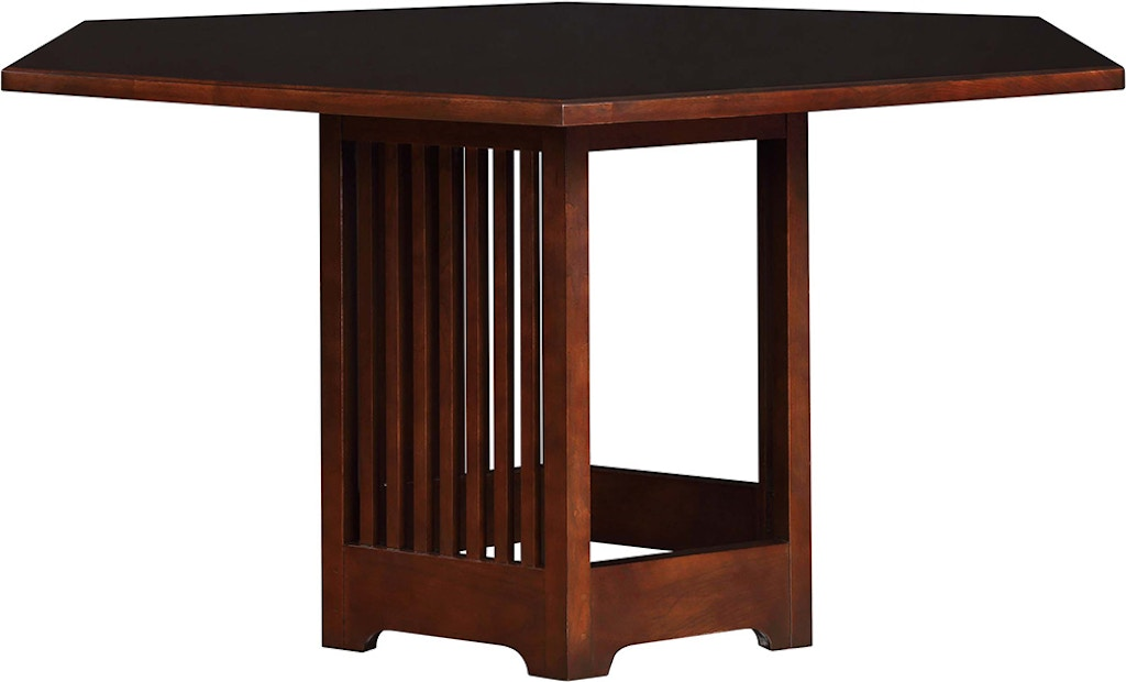 Stickley Dining Room Park Slope Hex Table 91-1531 - West ...