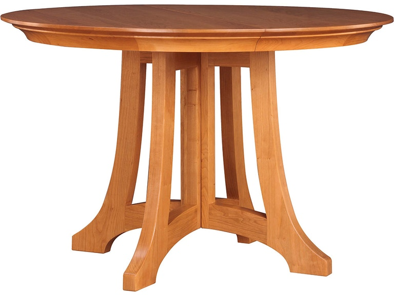 stickley dining room table | Stickley Dining Room Highlands Round Dining Table 91-594 ...
