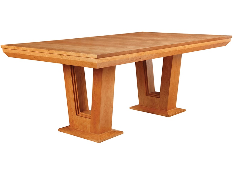 stickley dining room table | Stickley Dining Room Highlands Pedestal Dining Table 91 ...