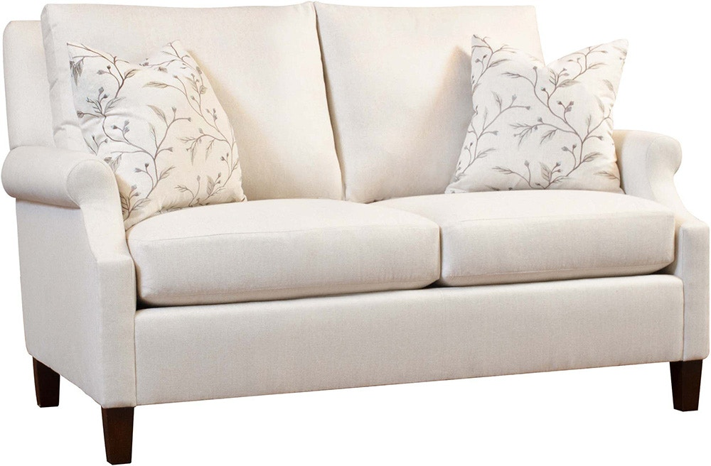 Magnificent Stickley Living Room Collingswood Loveseat Cl 8888 60 Von Machost Co Dining Chair Design Ideas Machostcouk