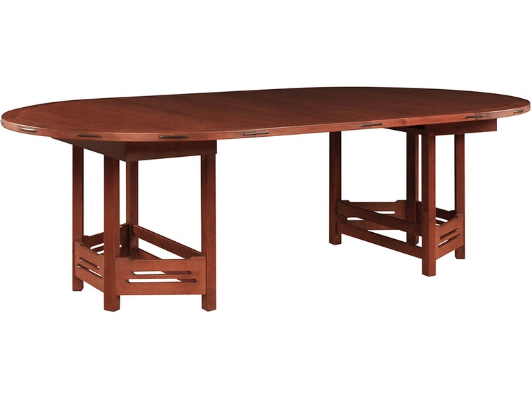 stickley dining room table | Stickley Dining Room Thorsen Round Dining Table AN-7359 ...