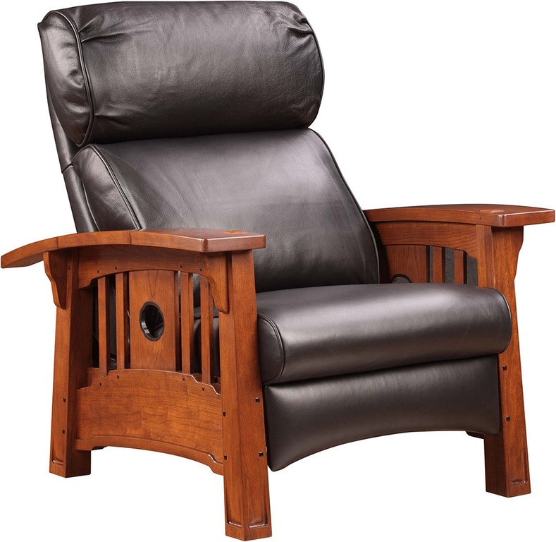 Surprising Stickley Living Room Tsuba Bustle Back Recliner An 7381 Rl Machost Co Dining Chair Design Ideas Machostcouk