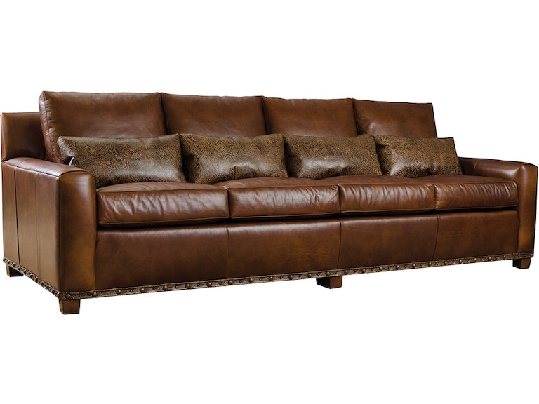 Outstanding Stickley Living Room Monterey Sofa Leather 879902 Pabps2019 Chair Design Images Pabps2019Com