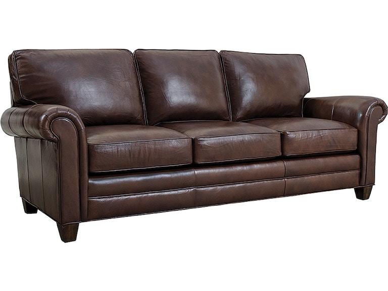 Stickley Living Room 8874 Arlington Sofa Leather Louis