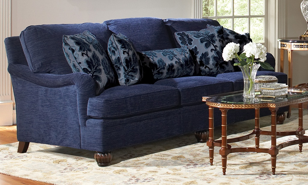 Stickley Furniture Living Room Booth Bay Sofa 96 9850 95 At Interiors Home