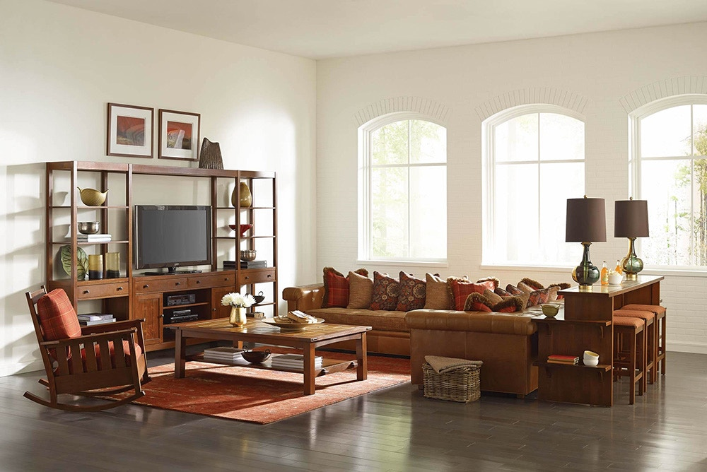 Stacy Furniture & Stickley Living Room Chicago Sectional - Stacy Furniture - Grapevine ...