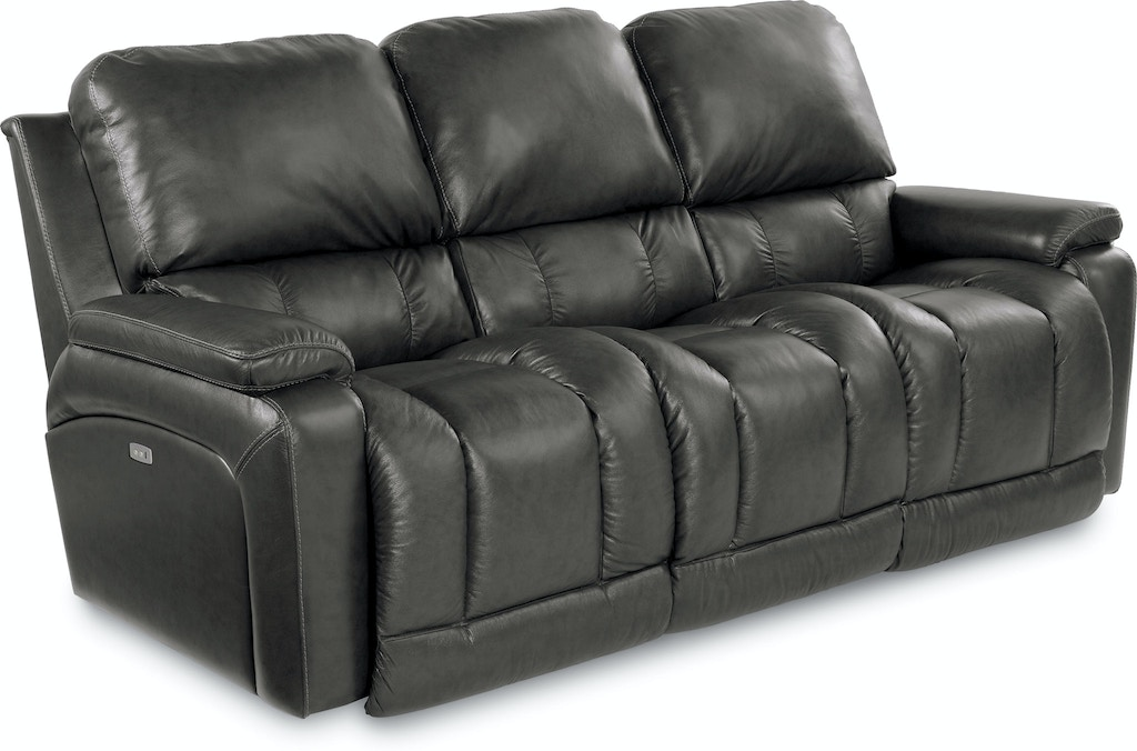 Leather Reclining Sofa 44p530