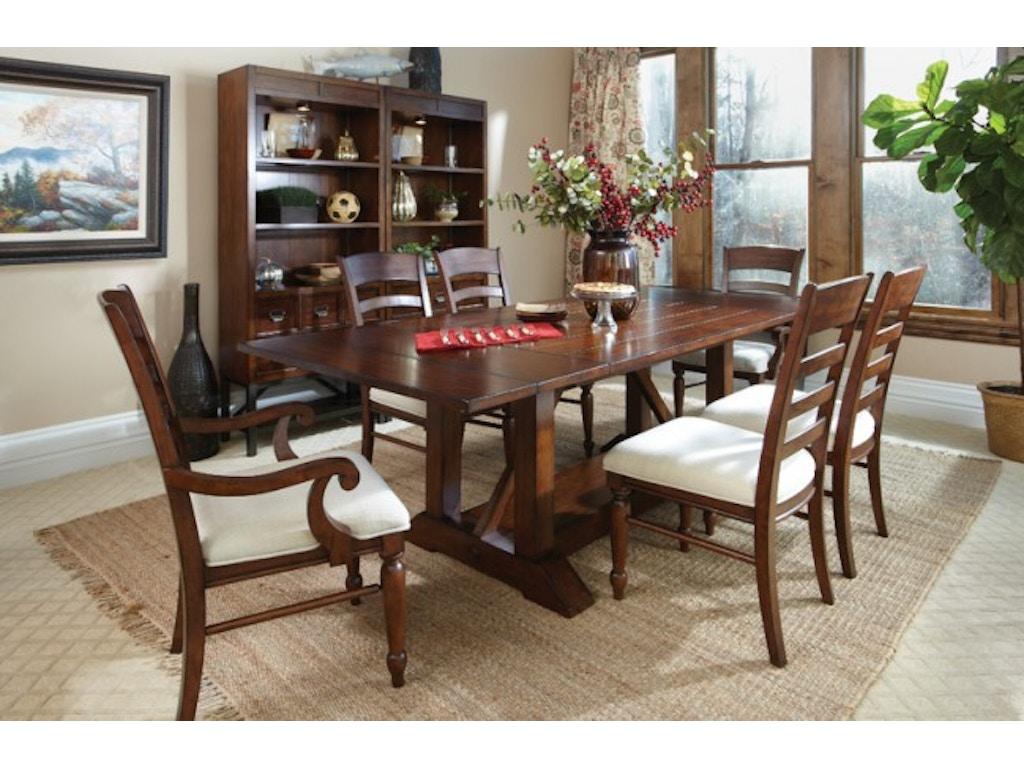 Carolina preserves dining room table 426 096 drt turner furniture company avon park and - Carolina dining room ...