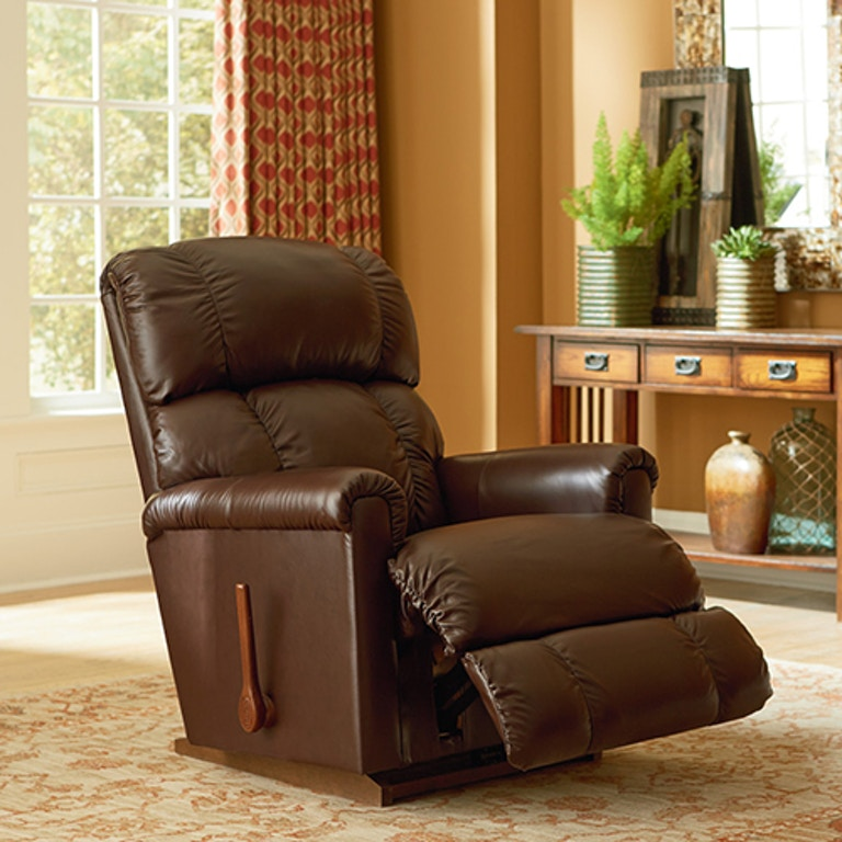 Living Room Lazboy Pinnacle Leather Recliner 010512
