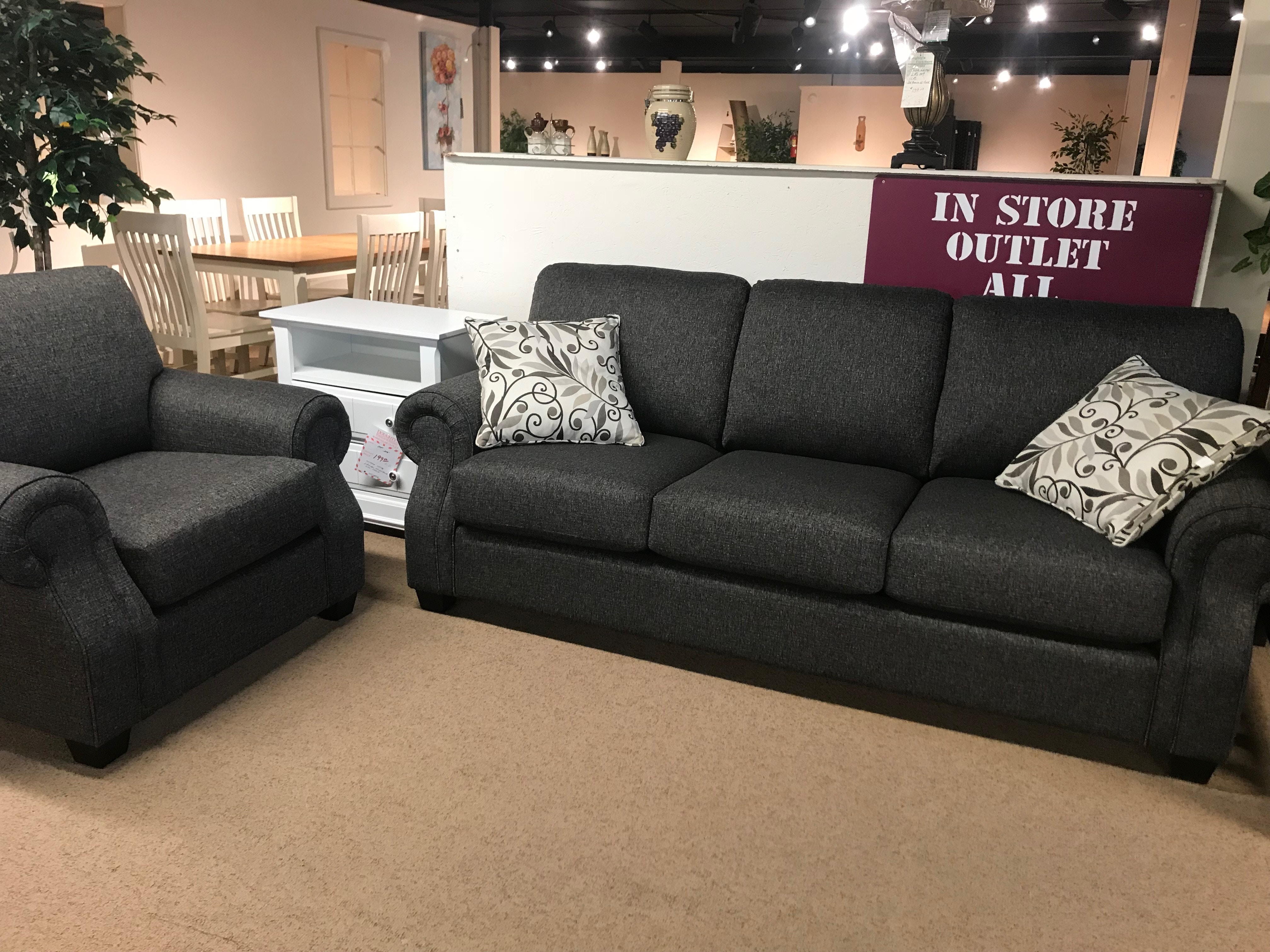 Decor Rest Living Room Sofa And Chair Clearance Price For 2 Pieces