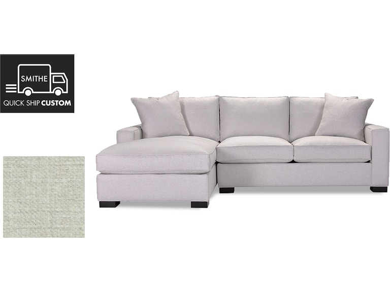 Grace Sectional With Ra Sofa La Chaise In Fabric C 2710